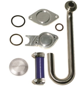 EGR Cooler & Valve Delete Kit W/O Up-pipe